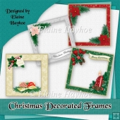 Christmas Decorated Frames