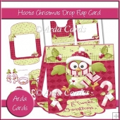 Hootie Christmas Drop Flap Card