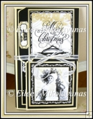 Triple Fold Christmas Wishes Folio with Video Directions