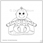 Baby Boy Digital Stamp