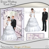 Dream Wedding Card Front