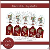 Christmas Gift Tag Sheet 2