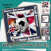 UK Footie Birthday Mini Kit