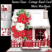 Santa Claus - Cottage Easel Card