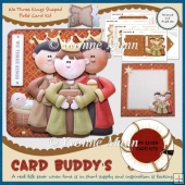 We Three Kings Shaped Fold Card Kit