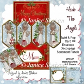 Christmas Hark The Angels 3D Twist and Pop Kit