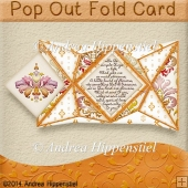 Pop Out Fold Card Paradise