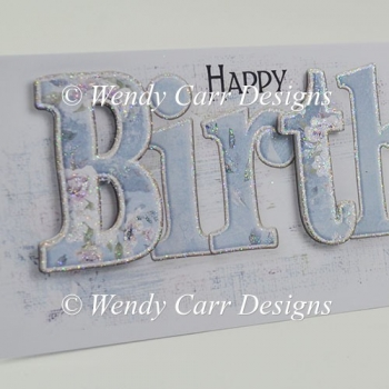 LONG HAPPY BIRTHDAY CARD