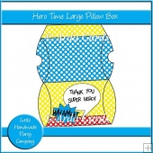 Hero Time Large Pillow Box