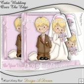 Cutie Wedding Over The Edge