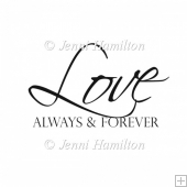 Always & Forever Digital Stamp