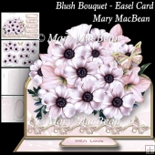 Blush Bouquet - Easel Card