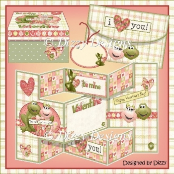 Toadally Love You Card Kit & Gift Box