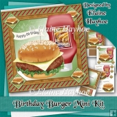 Birthday Burger Mini Kit