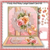 Fruity And Rosy Large Easel Card Kit