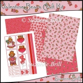 Valentine Bears Craft Kit