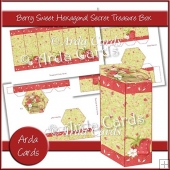 Berry Sweet Hexagonal Secret Treasure Box
