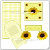Sunflower Easel Card