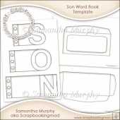 Son Word Book Template Commercial Use