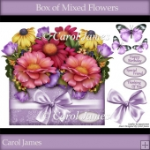 Box Of Mixed Flowers