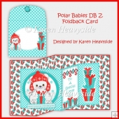 Polar Babies Double Z Foldback Card