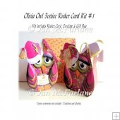 OLIVIA OWL FESTIVE ROCKER CARD KIT #1