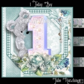 1 Today Boy Card Front Kit