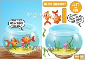Bubble Fish With Matching Insert