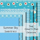 Summer Sky Sweetness Paper Pack