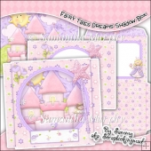 Fairy Tale Dreams Shadow Box Card
