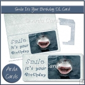 Smile It's Your Birthday DL Style Card