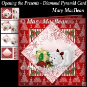 Opening the Presents - Diamond Pyramid Card