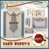 Gentleman�s Shirt Shaped Fold Card Kit
