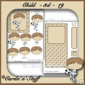 Childrens Easel Card -3d- 19
