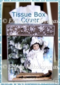 Let Your Light Shine Christmas Kleenex Tissue Box Cover