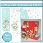 Christmas Bears Advent Calendar Drawers