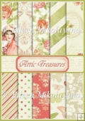 Attic Treasures COMMERCIAL USE Background Papers Set