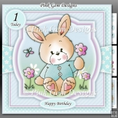 Spring Bunny Mini Kit With Ages 1 to 9 yrs