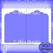 Scalloped Card Template