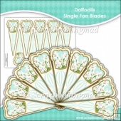 Daffodils Single Fan Blades
