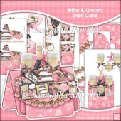 Bride and Groom Shelf Card & Card Box