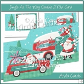 Jingle All The Way Double Z Fold Card
