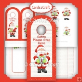 Christmas door hanger 1