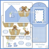Baby Envelope Card 2