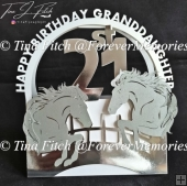 21st Granddaughter Birthday, TF0350, SVG,CRICUT,CAMEO,ScanNCut