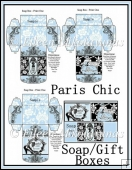 Paris Chic Soap/ Gift Boxes Set