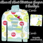 Have a Hoot This Christmas Christmas Jumper Card