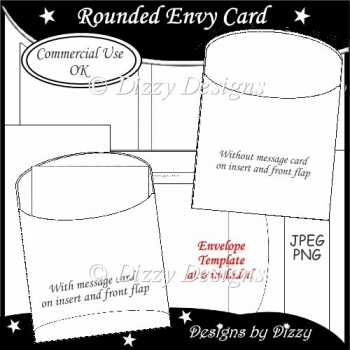 Rounded Envy Card Template