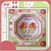 Butterfly Framed Box Card