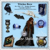 Witches Brew - Set One - CU - PNG Clipart - Designer Resource